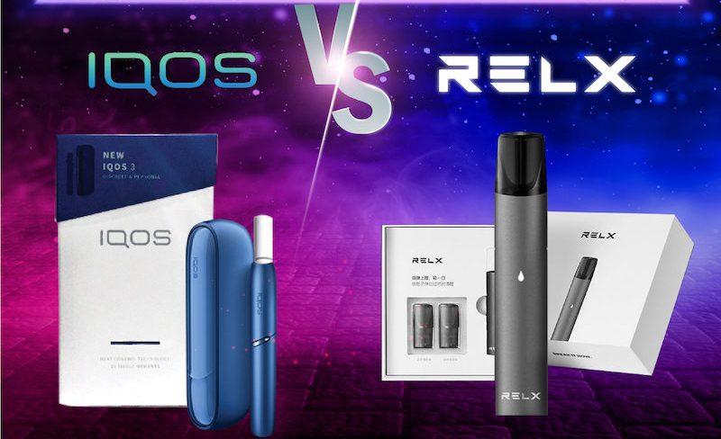 ความแตกต่างระหว่าง IQOS & relx pod ราคาถูก